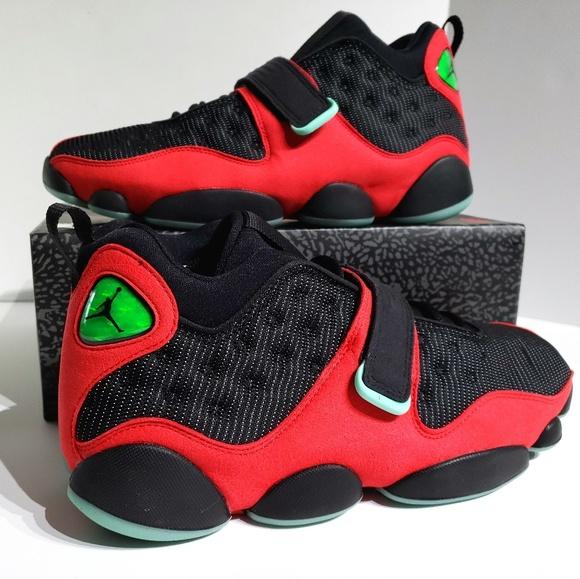 size 40 dc492 b6131 Nike Air Jordan 13 Black Cat Red Black AR0772 006 NWT